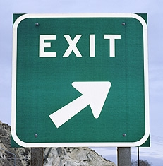 Exit one mile—meeting temptation on the straight and narrow
