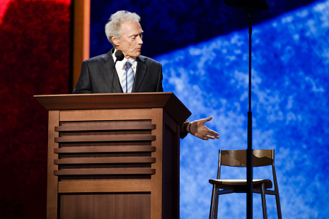 Clint Eastwood and the Empty Chair