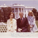 Rosalyn Carter's mother signed this photo, presumably in person, for Chelsea House residents.